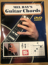 Mel Bays Guitar Chords 12 basic guitar chord type lessons & hand movements  DVD