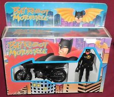 BOX SET SPIELZEUG SUPERHEROE DC COMICS BATMAN VINTAGE TAIWAN-BAT ROBOT,MOTO BIKE