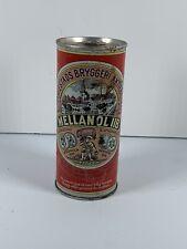 Vintage Beer Can Flat Top Pull Tab Mellan ÖL Iib Stockholm, Sweden Rare!