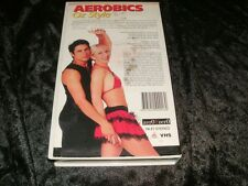 AEROBICS OZ STYLE HEAT IN YOUR FEET RARE VHS PAL VIDEO~