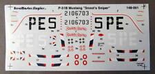 1/48 AeroMaster Decals 48-001 P-51B MUSTANG SNOOT'S SNIPER mint