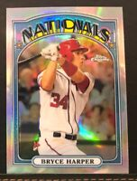 2013 Chrome 1972 Topps Bryce Harper #72C-BH Nationals Phillies