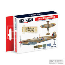 HATAKA Htk-as07 Ww2 RAF in North Africa 4 Colour Paint Set