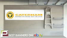 Caterham Seven Workshop / Garage Banner Super 7, Superlight r300, r400, r500