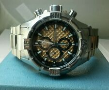 Men's Invicta Chronograph Rose Dial stainless Watch