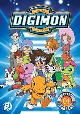 Digimon Digital Monsters DVD Set Official First 1st Season 1 One TV Series Anime
