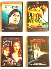 Spanish Movies 4 Dvds Y Tu Mama Tambien, Goya's Ghost, The Holy Girl, and.
