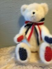 """Boyds Bears""""Franklin B Beansley"""" 14"""" July Bear of Month-#919846-Nwt-2005-Re tired"""