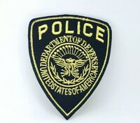 Police Department of Defence Badge Iron on Sew on Embroidered Patch