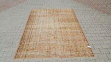 Area Rug,6x8 ft Turkish Rug,Anatolian Rug ,Bohemian,Vintage rug,Oushak Rug Orang