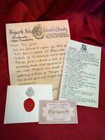 Hogwarts Acceptance Letter - Handwritten & Personalized - Harry Potter