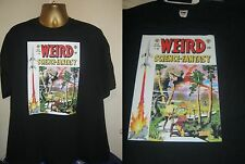 WEIRD SCIENCE-FANTASY- GREAT VINTAGE COMIC BOOK  PRINT T SHIRT-BLACK- EX LARGE
