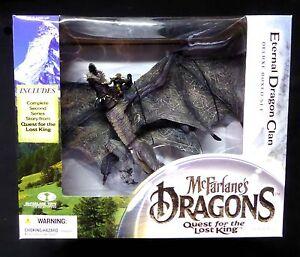 Dragons Series 2 Lost King Eternal Dragon Box Set New McFarlane Toys  Amricons