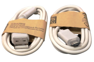 2 NEW OEM SAMSUNG GALAXY S3 S4 S5 S6 S7 MICRO USB CHARGER DATA CABLE ECB-DU4AWE