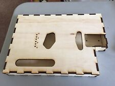 Cigar Box Type Guitar Body With Cutaway