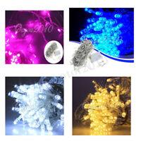 10-50M 100-500 LED Guirlande Lumineuse Lampe Xmas Fête Noël Soirée Mariage Décor
