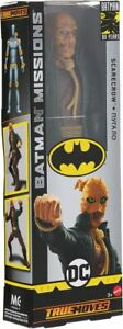 Batman Missions SCARECROW Figure 12-Inch Mattel New in Box