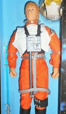 STAR WARS 12 inch LUKE SKYWALKER x-wing pilot 1997 power of the force collectors