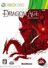 Used Xbox 360 Dragon Age: Origins MICROSOFT JAPAN JP JAPANESE JAPONAIS IMPORT