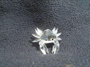 Swarovski Silver Crystal Miniature Crab