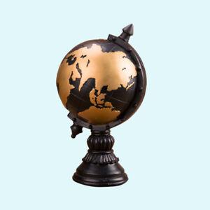 Classic Decorative World Desktop Globe World Globe Ornaments Map for Office Home