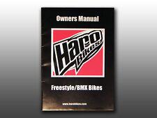 Original Mid School 2006 Haro Freestyle/Bmx Bicycle, Owner's Manual