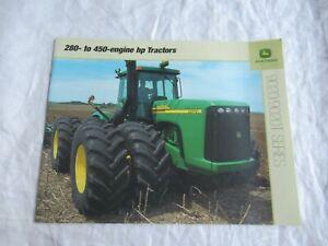 John Deere 9120 9220 9320 9420 9520 9320T 9020 9020T series tractor brochure