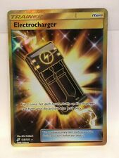 Electrocharger 193/181 FULL ART HOLO Pokémon TCG Sun & Moon Team Up