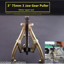 "Mechanic Gear Puller 3 Jaw 3"" 75mm Gear Pulley Bearing Puller Motor Repair Tool"
