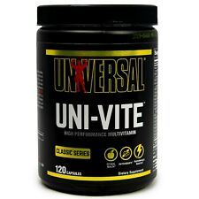 Universal Nutrition UNI-VITE multi-vitamin 120 Capsules Univite Animal Pak