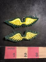 Vtg Girl Scouts Patch Lot Of 2 Girl Scout Wing Patches C89U