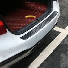 Accessories Carbon Fiber Car Rear Bumper Guard Trunk Edge Sill Rubber Protector