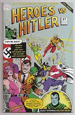 Heroes VS Hiltler 1 NM- 1st Print Roy Thomas Dick Giordano Hamster Press Comic