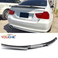 M4 Look Carbon Fiber Trunk Spoiler Boot Lip for BMW 3 Series E90 M3 4 Door 05-11