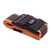 Sicurezza Cinghia Cintura Serratura Combinazione Valigia Viaggi Bagagli Fas R3X4