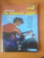 Ma première méthode de Guitare avec CD : Acoustique Folk Rock classique variété