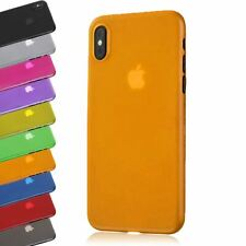 TRANSPARENT SLIM ULTRA THIN 0.5MM CLEAR GEL COVER BACK CASE FOR IPHONE XS MAX