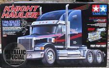 Tamiya Knight Hauler Chrome Metallic Special Edition 56316 Truck Kit New Trailer