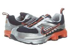 Nike Shox Turbo 8 Alt Dark/Obsidian-Team/Orange -Metallic/Silver 5.5 Us 38 Eur