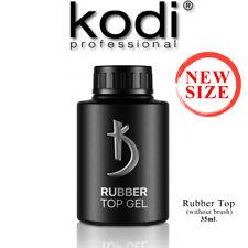 NEW SIZE 35ml. Rubber TOP - Kodi Professional Gel LED/UV Nagellack Nail Coat