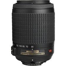 Nikon AF-S DX VR Zoom-Nikkor 55-200mm f/4-5.6G IF-ED Lens, Brand New  - USA