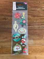 Christmas Traditional Vintage Chipboard Embellishments From Trimcraft