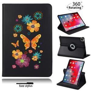 Fit Apple iPad Air / Air 2/ Air 3/Air 4 PU Leather 360°Rotating Stand Case Cover