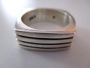 SILBER RING ° 925 / 1000 ° Silberschmuck ° Modernist °