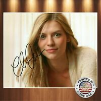 Claire Danes Autographed Signed 8x10 Photo (Terminator) REPRINT