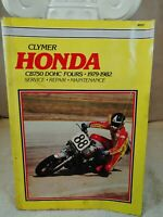 Honda 1979 - 1982 CB750 DOHC FOURS Clymer Service & Repair Manual M337