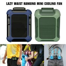 2020 Lazy Waist Hanging Mini Cooling Fan Portable USB Rechargeable 3 Mode BU GN