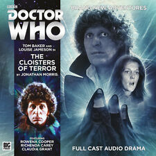 DOCTOR WHO Big Finish Audio CD Tom Baker 4th Doctor #4.6 THE CLOISTERS OF TERROR