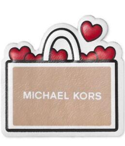 Michael Kors   Heart Shopping Bag Leather Bag Sticker MK Logo