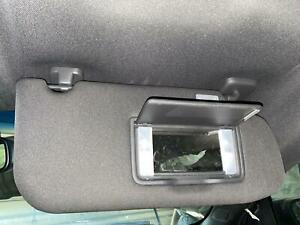 2013-2019 FORD TAURUS Right Passenger Sun Visor Shade w/ Lamps & Mirror, BLACK